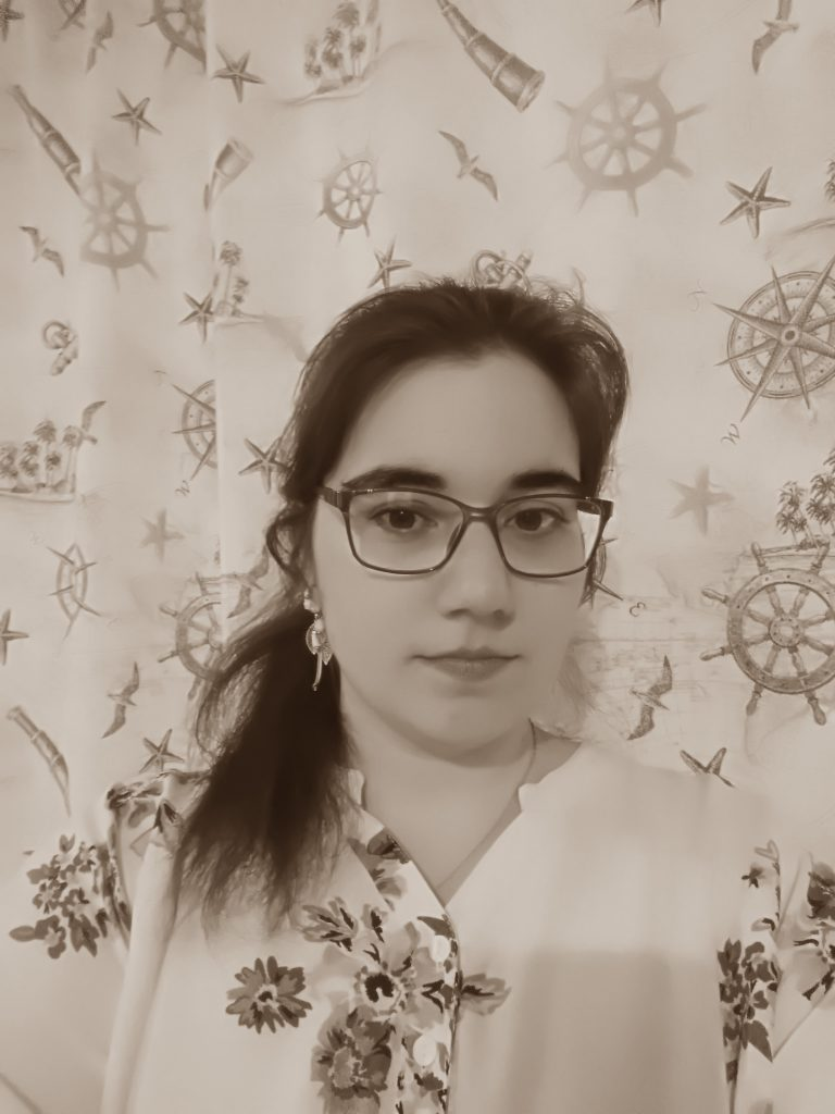 Mug shot (sepia) picture of Cécile NYS